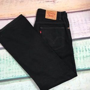 Levi's Black Jeans, Size 33 X 30